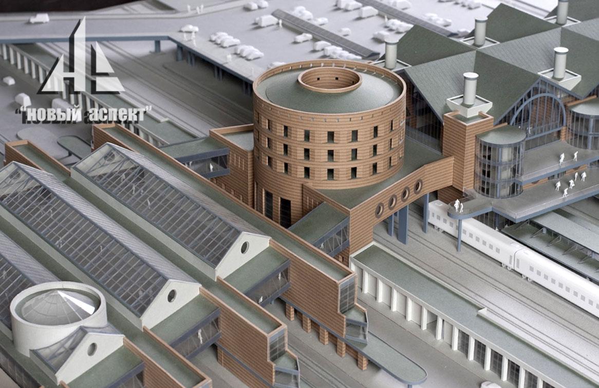 Макеты общественных зданий Ладожский (2)