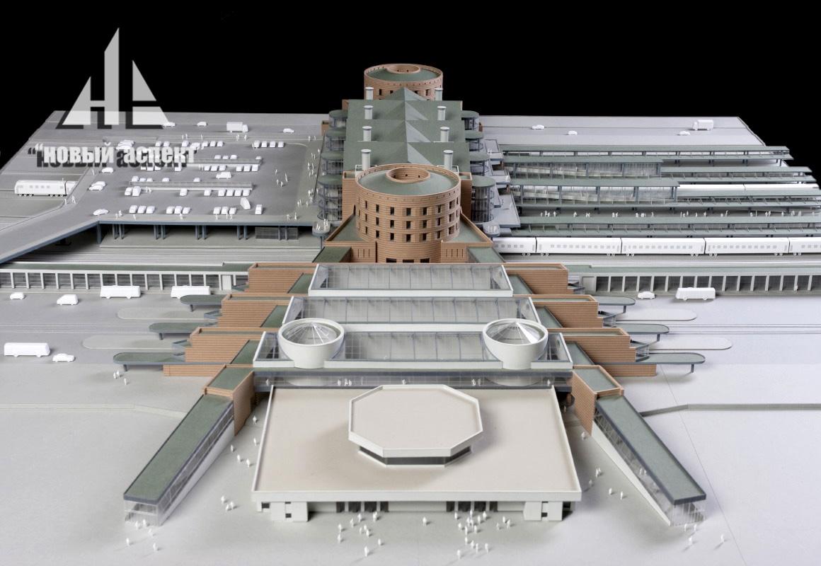 Макеты общественных зданий, Ладожский (3)