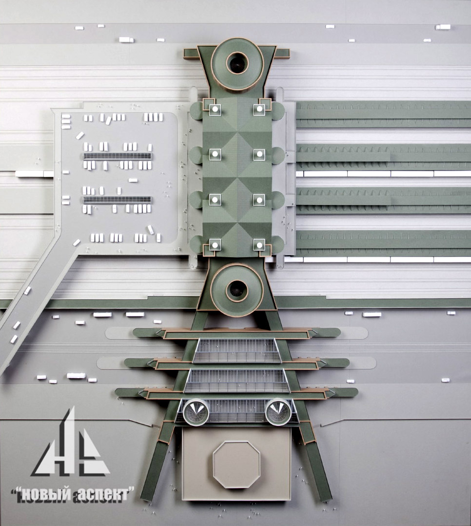 Макеты общественных зданий Ладожский (4)