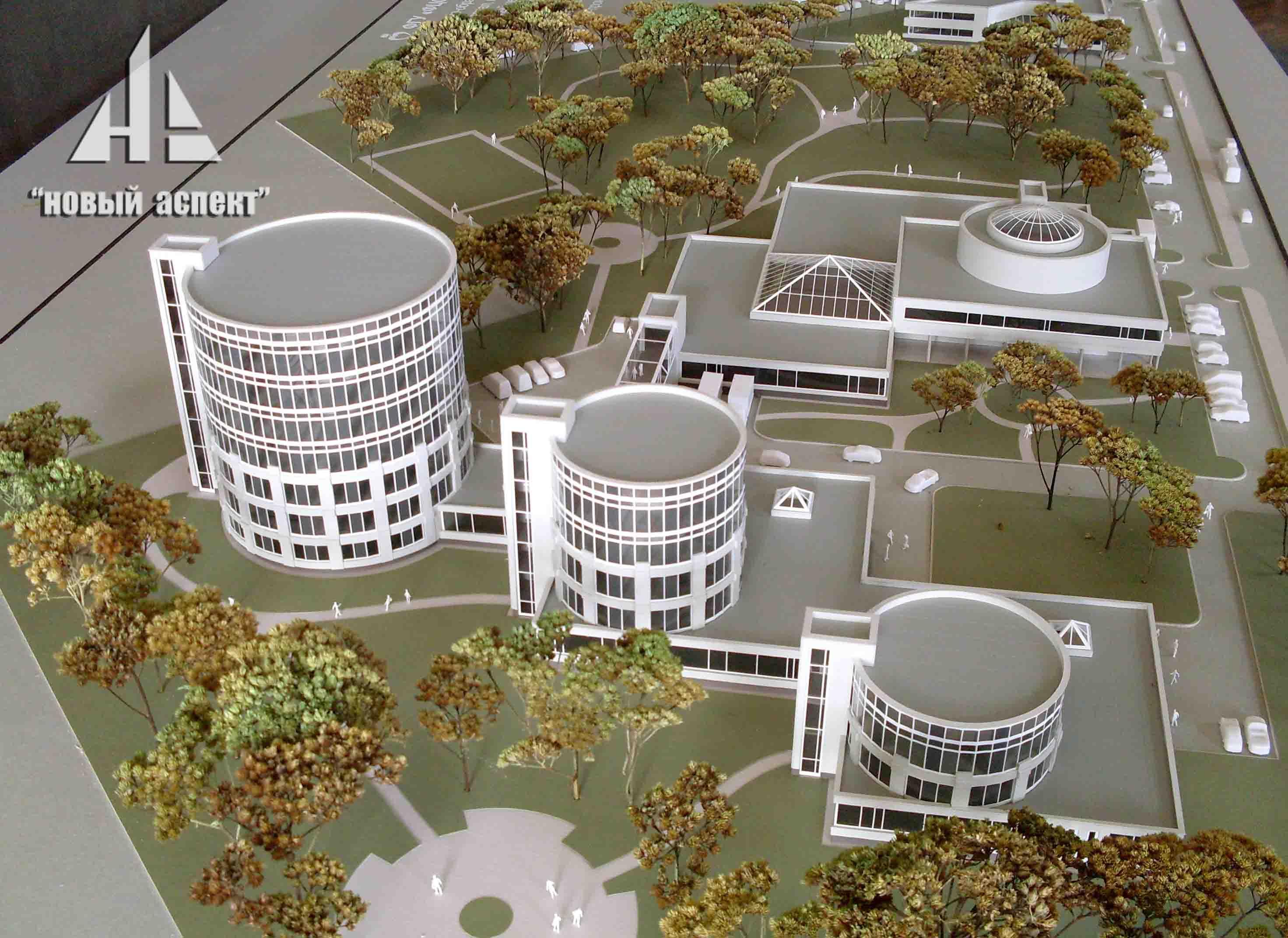 Макеты общественных зданий Медцентр (1)