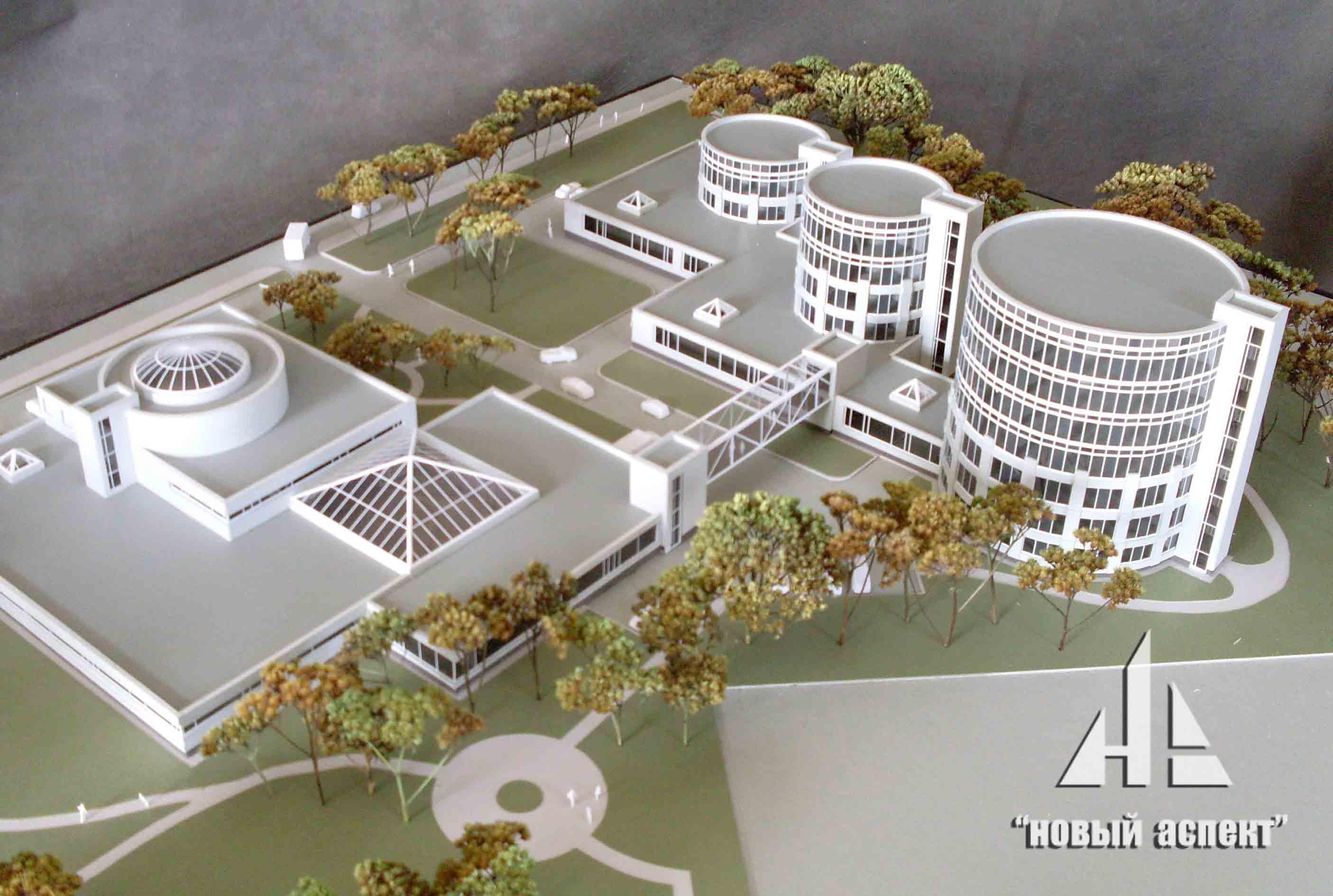 Макеты общественных зданий Медцентр (2)