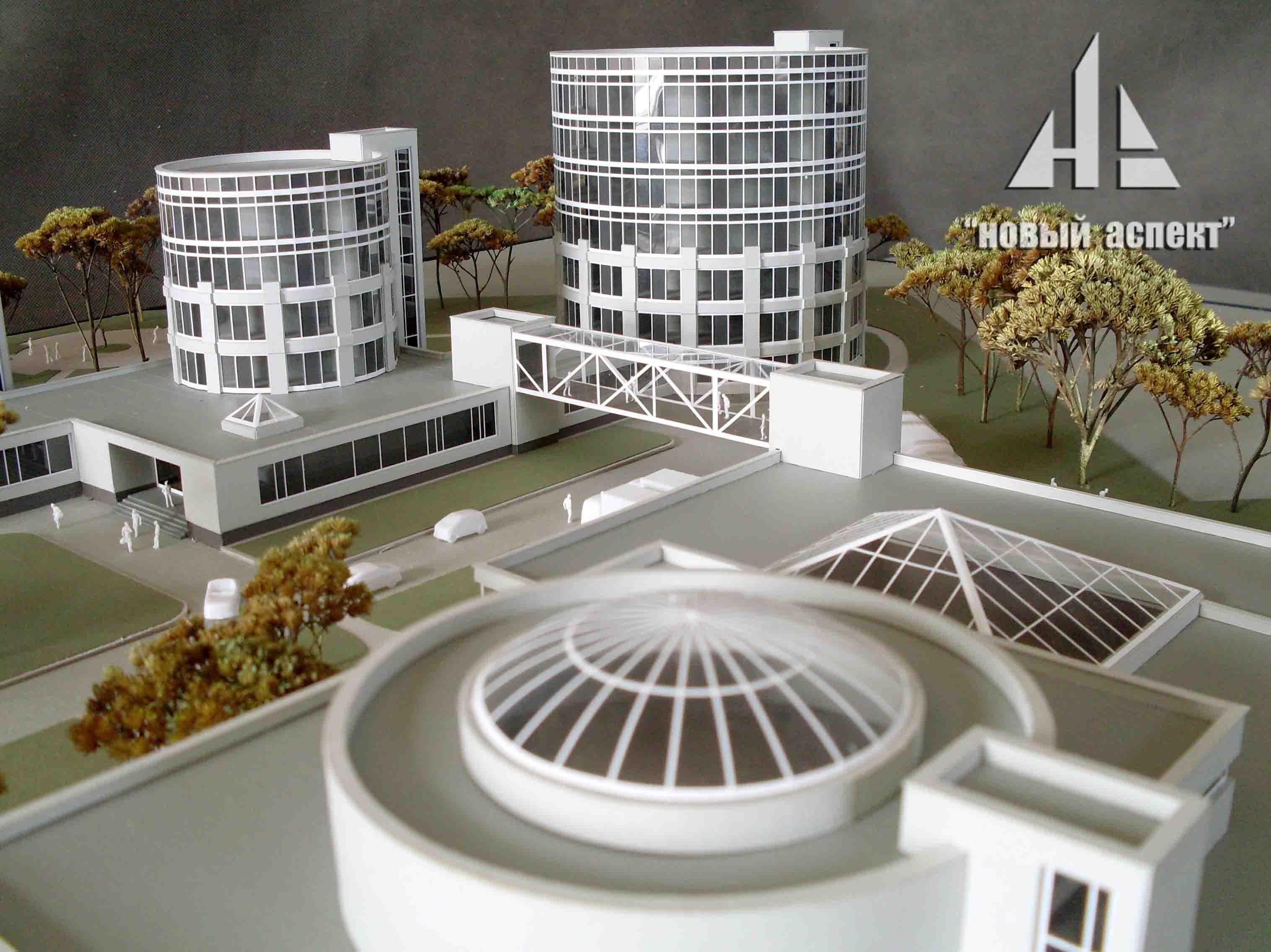 Макеты общественных зданий Медцентр (3)