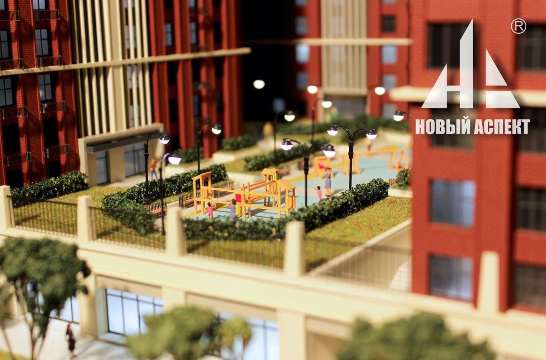 Макеты жилых домов и комплексов, Мейн Хаус (4)