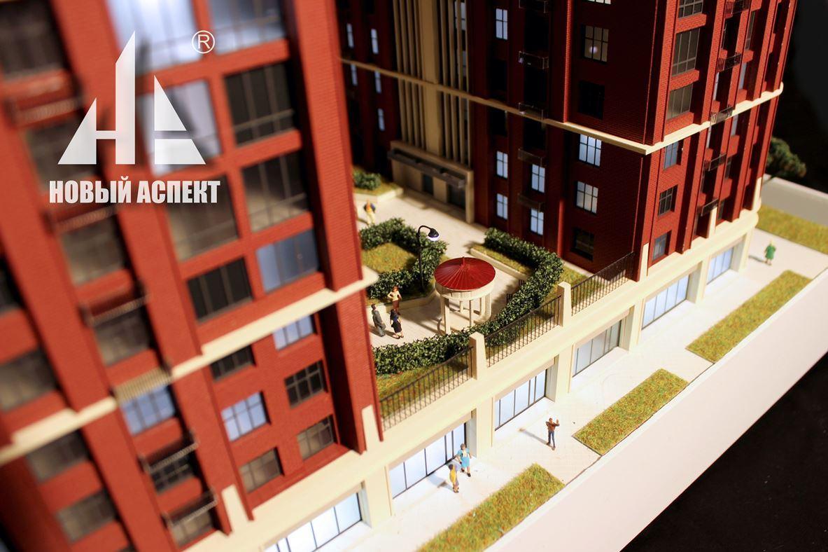 Макеты жилых домов и комплексов, Мейн Хаус (5)