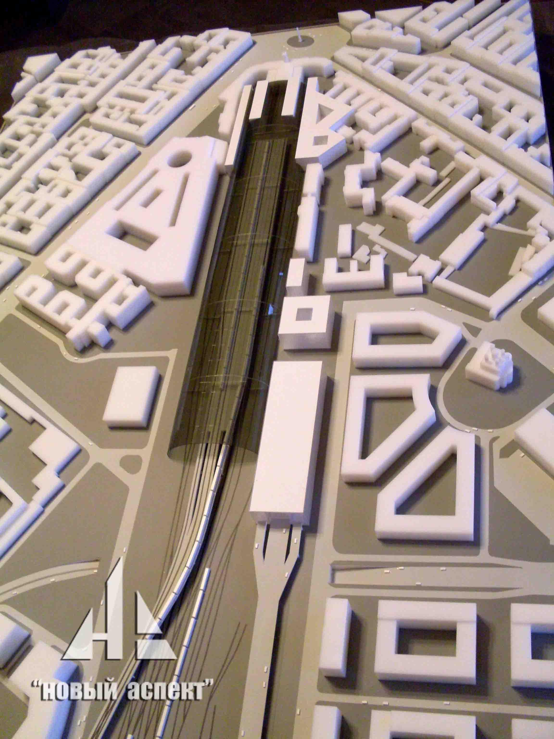 Градостроительные макеты Московский Вокзал (1)