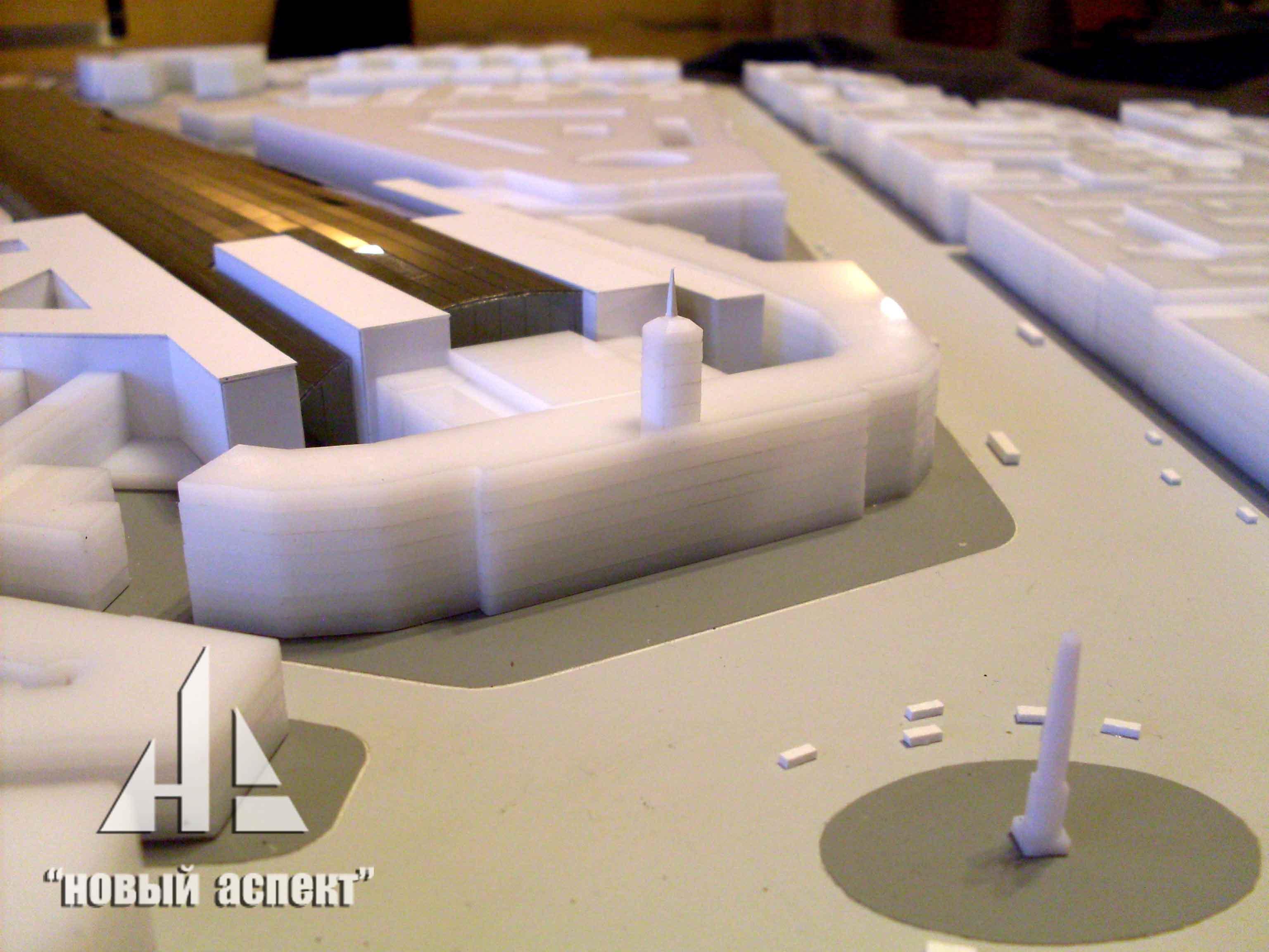 Градостроительные макеты Московский Вокзал (4)