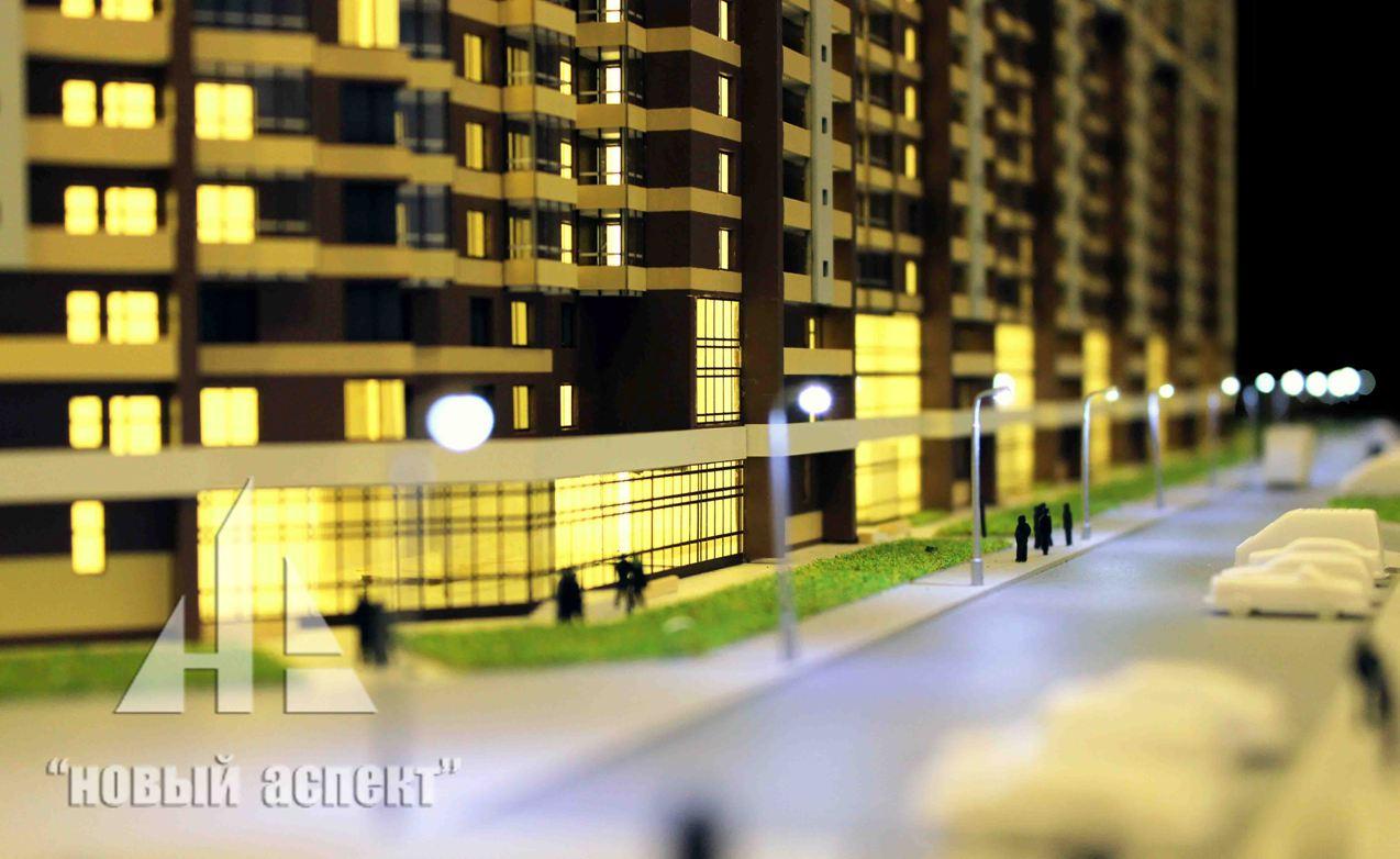 Макеты жилых домов и комплексов Мурино (6)