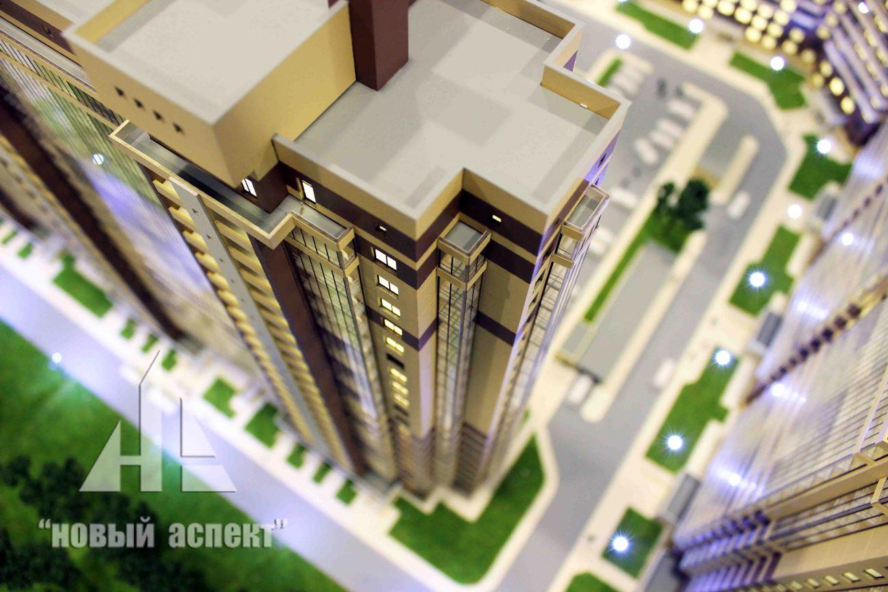 Макеты жилых домов и комплексов Мурино (7)