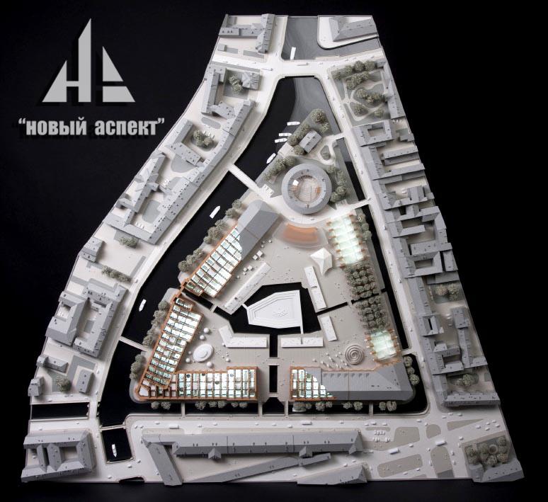 Градостроительные макеты НГ (2)