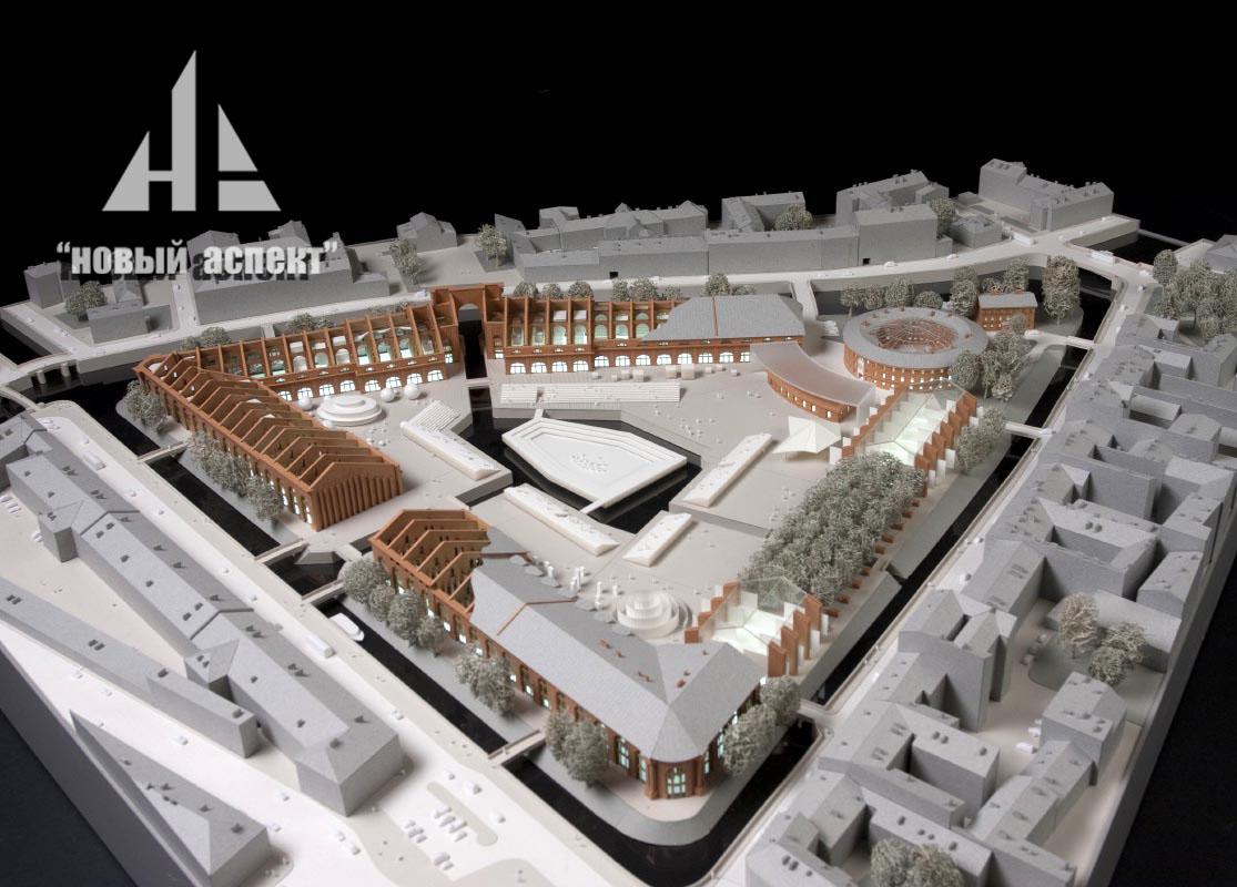 Градостроительные макеты НГ (3)