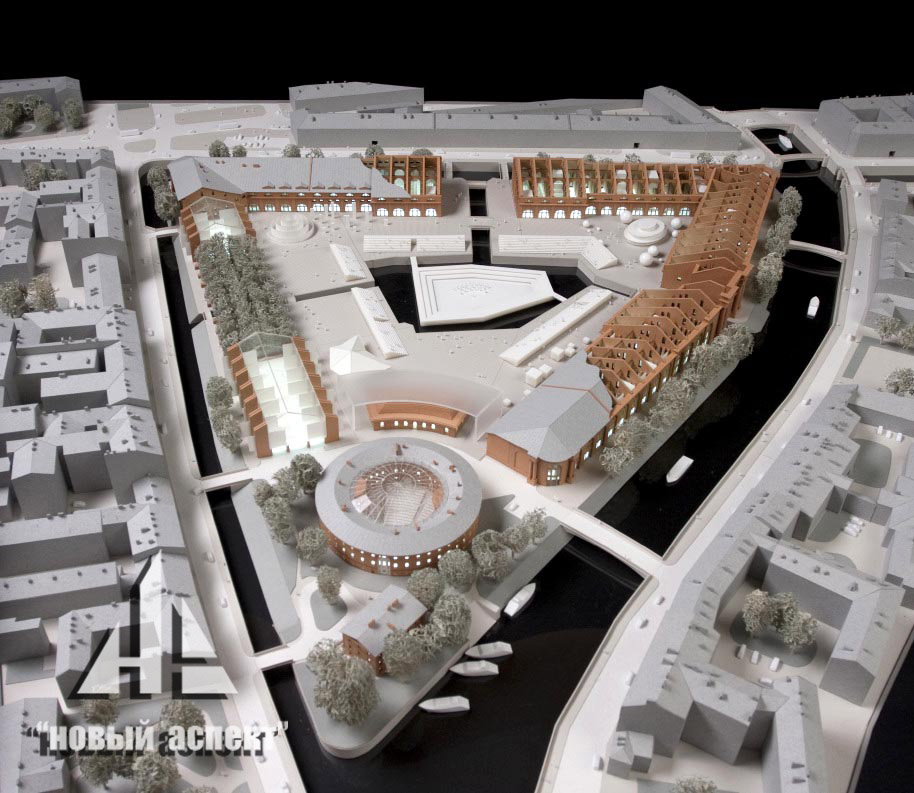 Градостроительные макеты НГ (4)