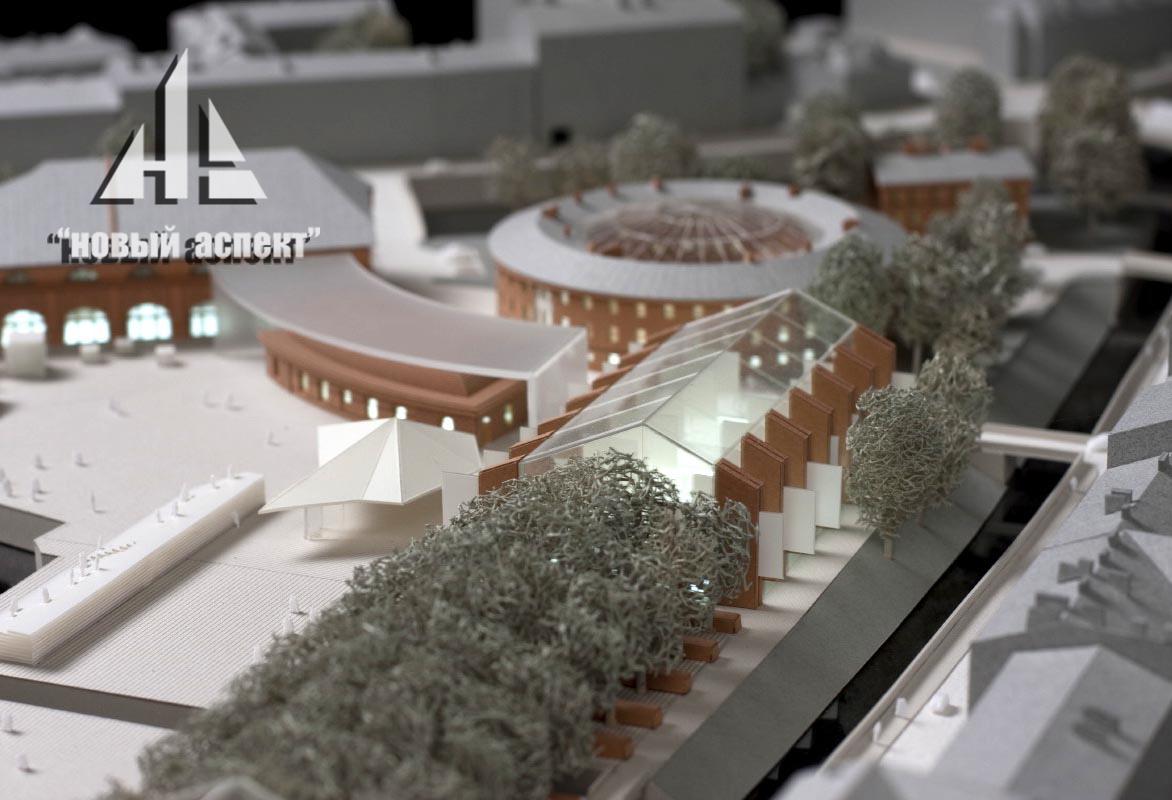 Градостроительные макеты НГ (7)