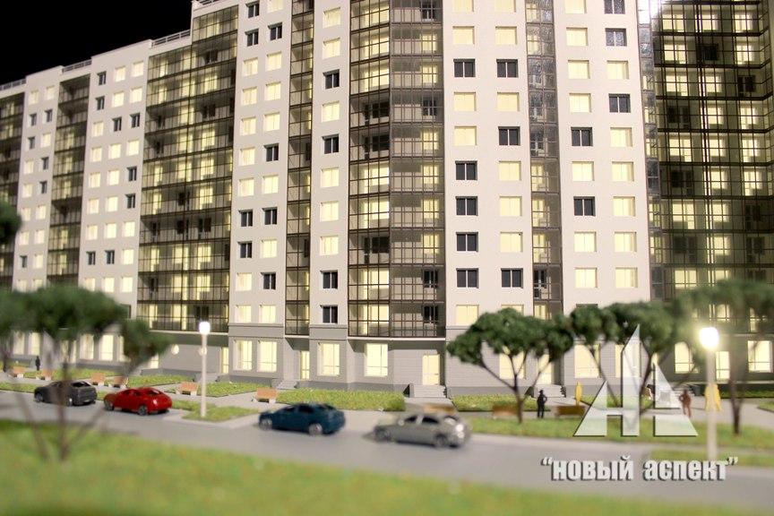 Макеты жилых домов и комплексов ЖК Правый Берег (1)