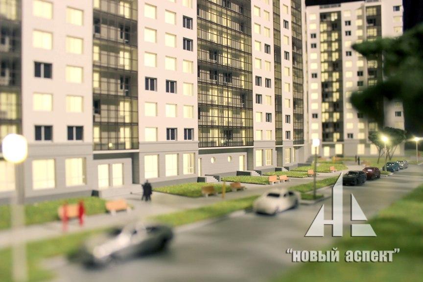 Макеты жилых домов и комплексов ЖК Правый Берег (2)
