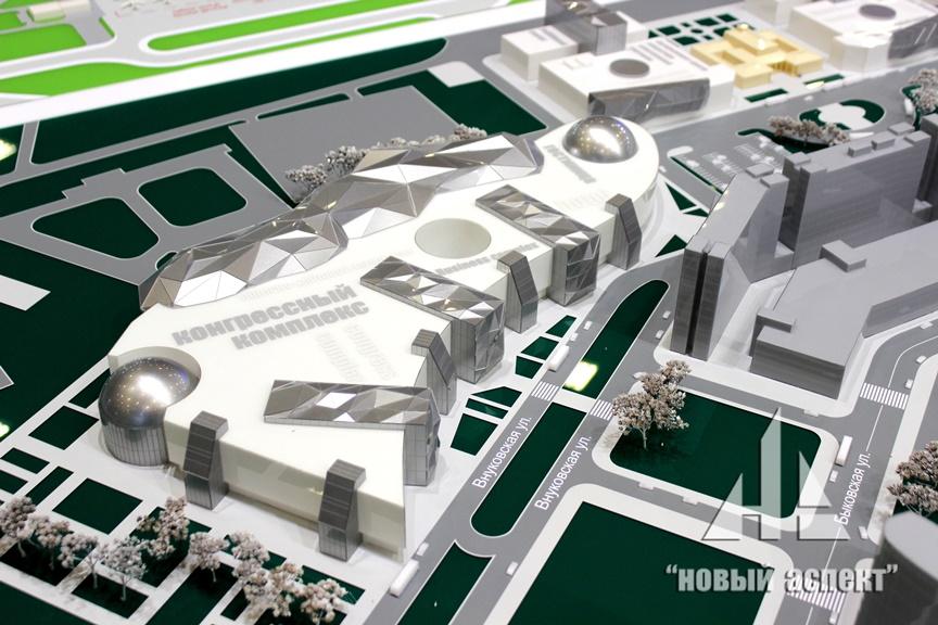 Градостроительные макеты Пулково (3)