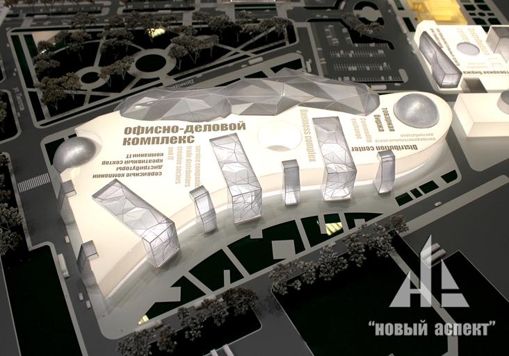 Градостроительные макеты Пулково (4)