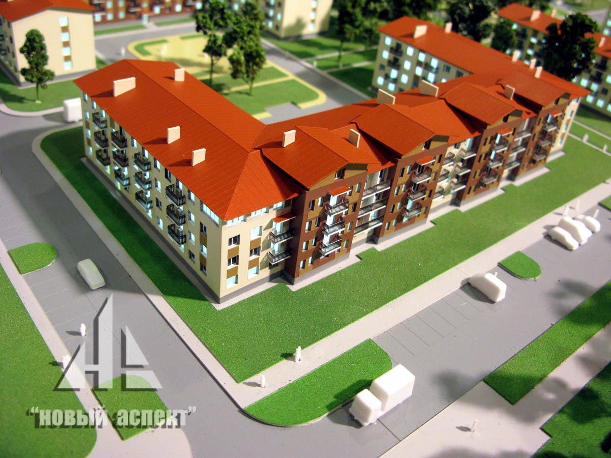 Макеты жилых домов и комплексов Щеглово (1)