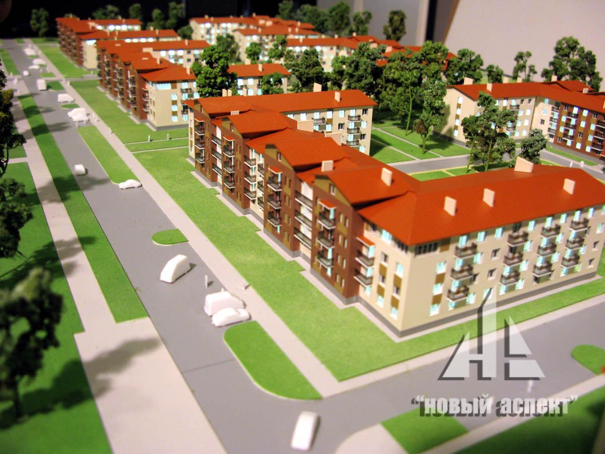 Макеты жилых домов и комплексов Щеглово (2)