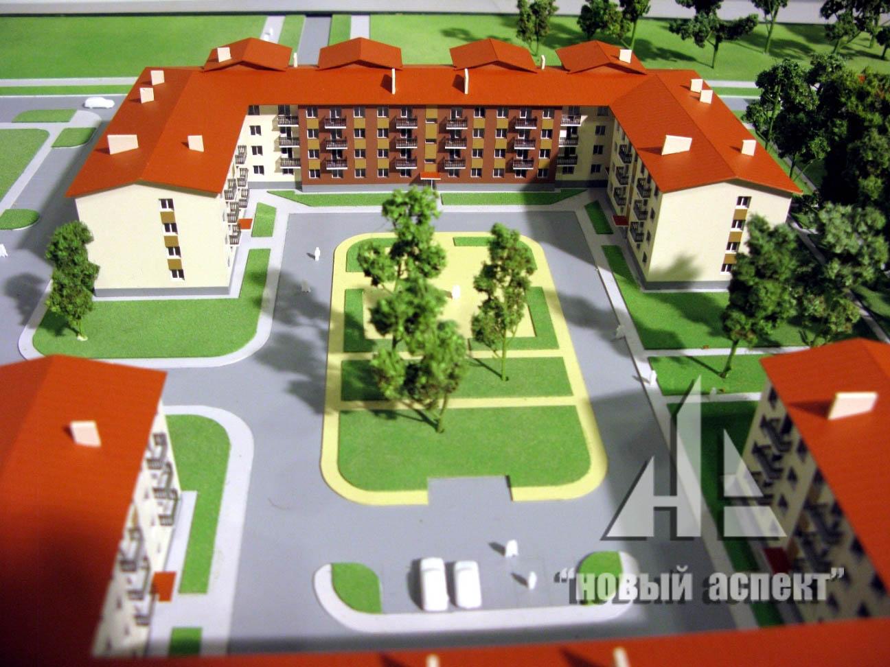 Макеты жилых домов и комплексов Щеглово (4)