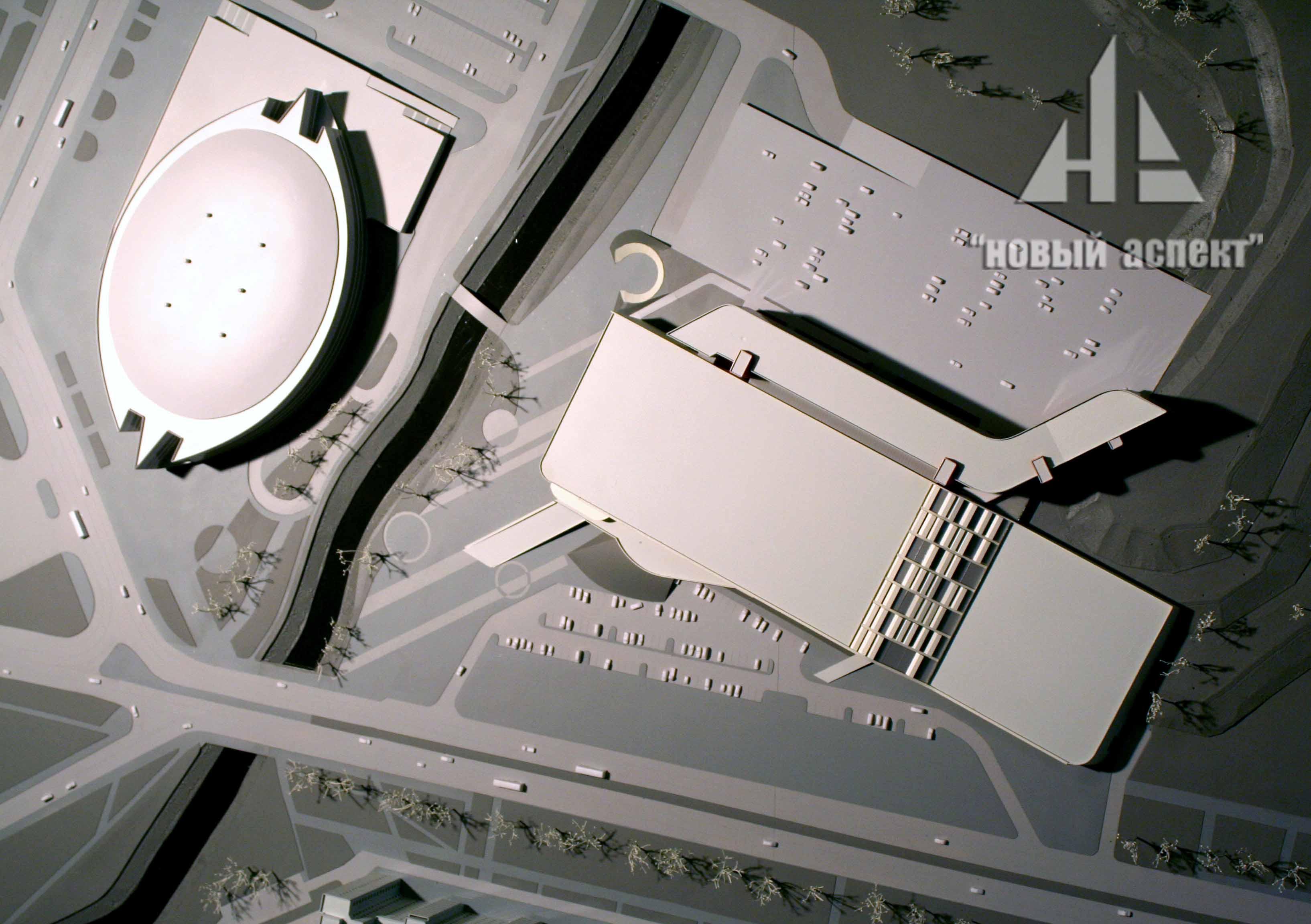 Макеты общественных зданий СКА Лошаков (1)