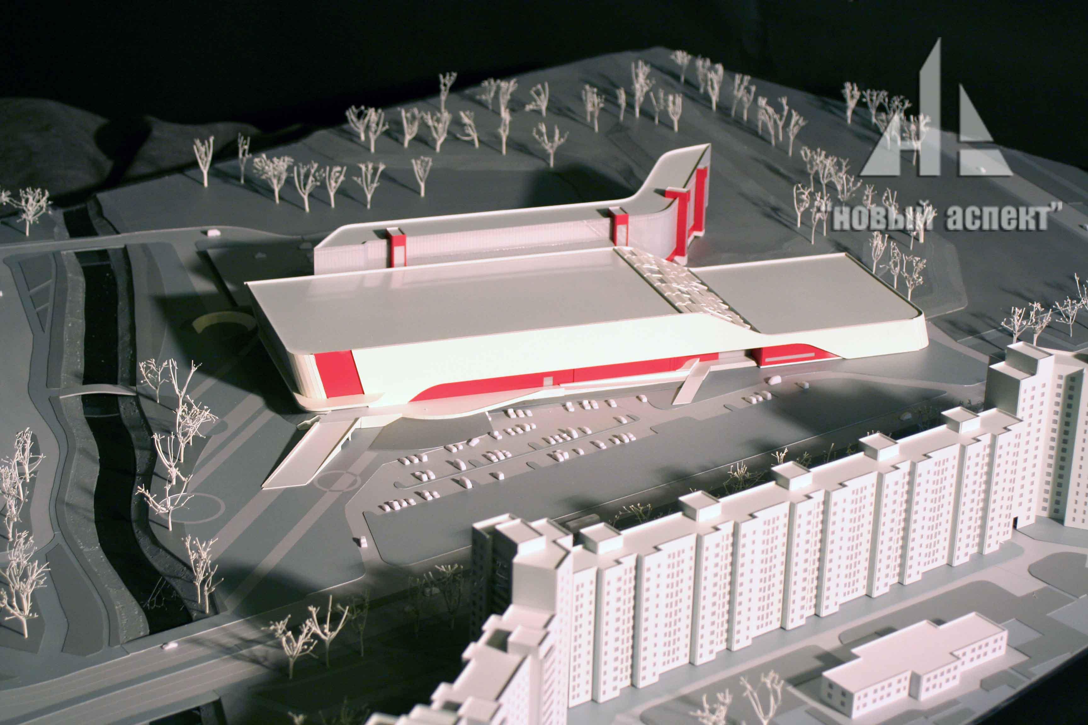 Макеты общественных зданий СКА Лошаков (3)