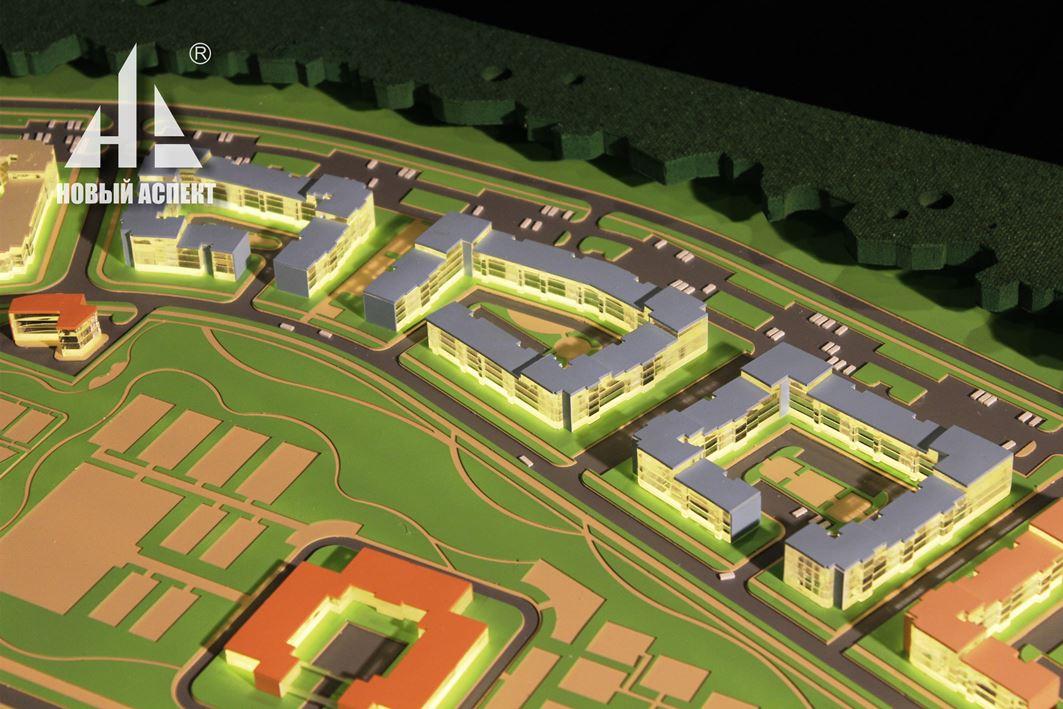 Градостроительные макеты, Сертолово 3