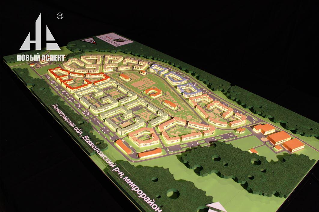Градостроительные макеты, Сертолово 5