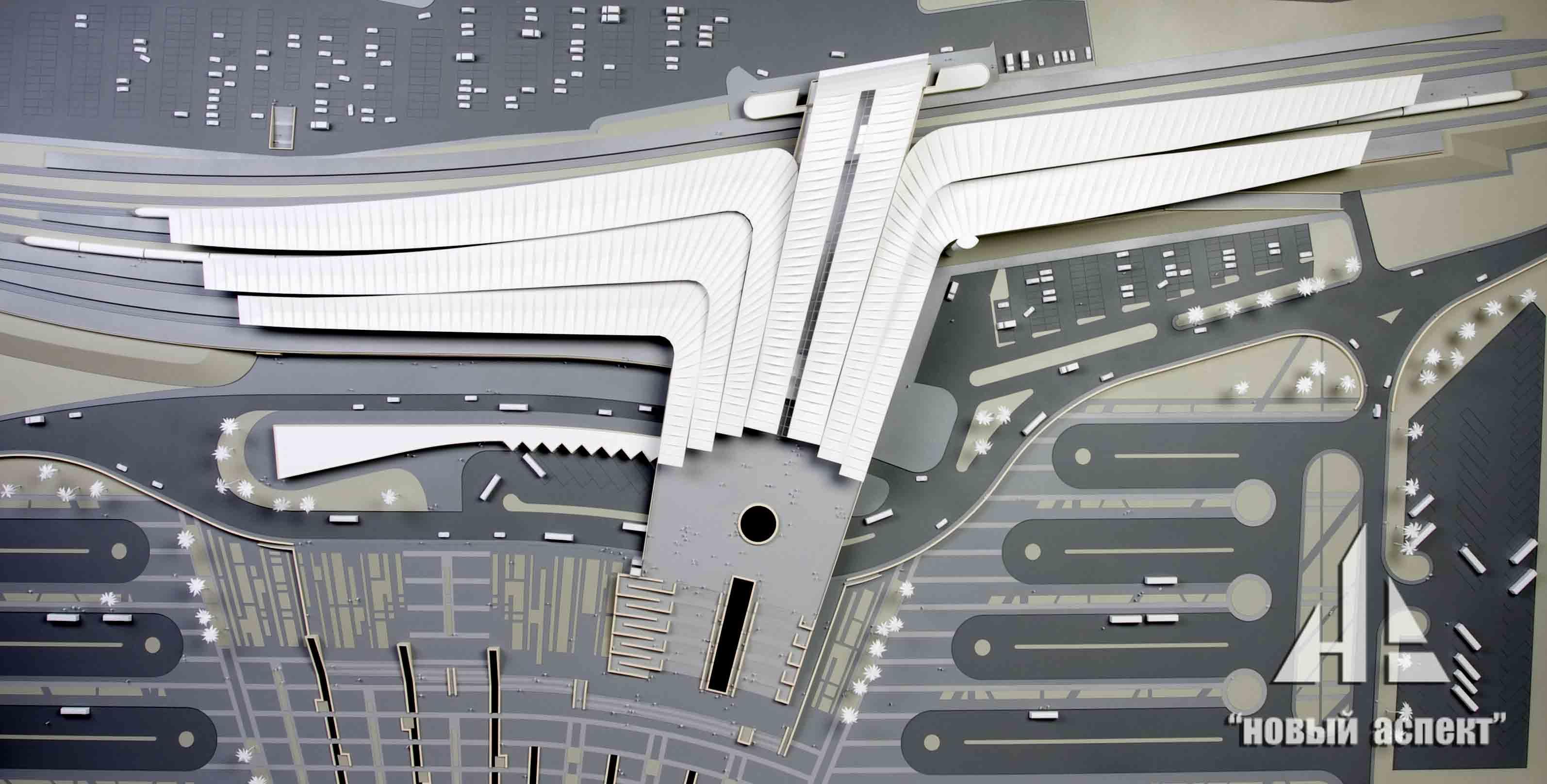 Макеты общественных зданий, Сочи Вокзал (1)