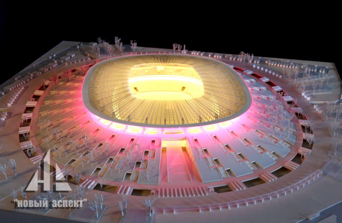 Макеты общественных зданий, Стадион Краснодар (2)