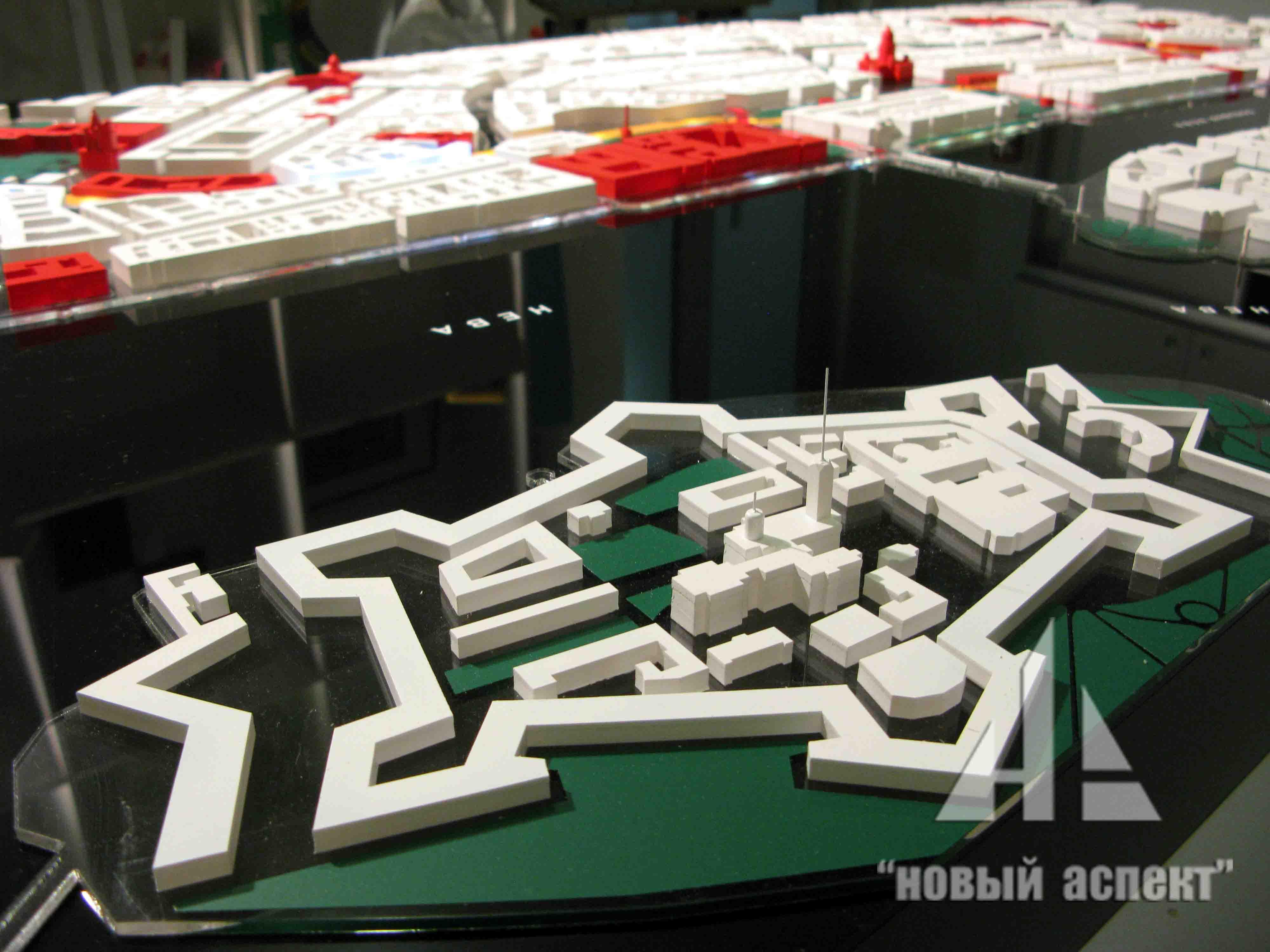 Градостроительные макеты Центр СПб (6)