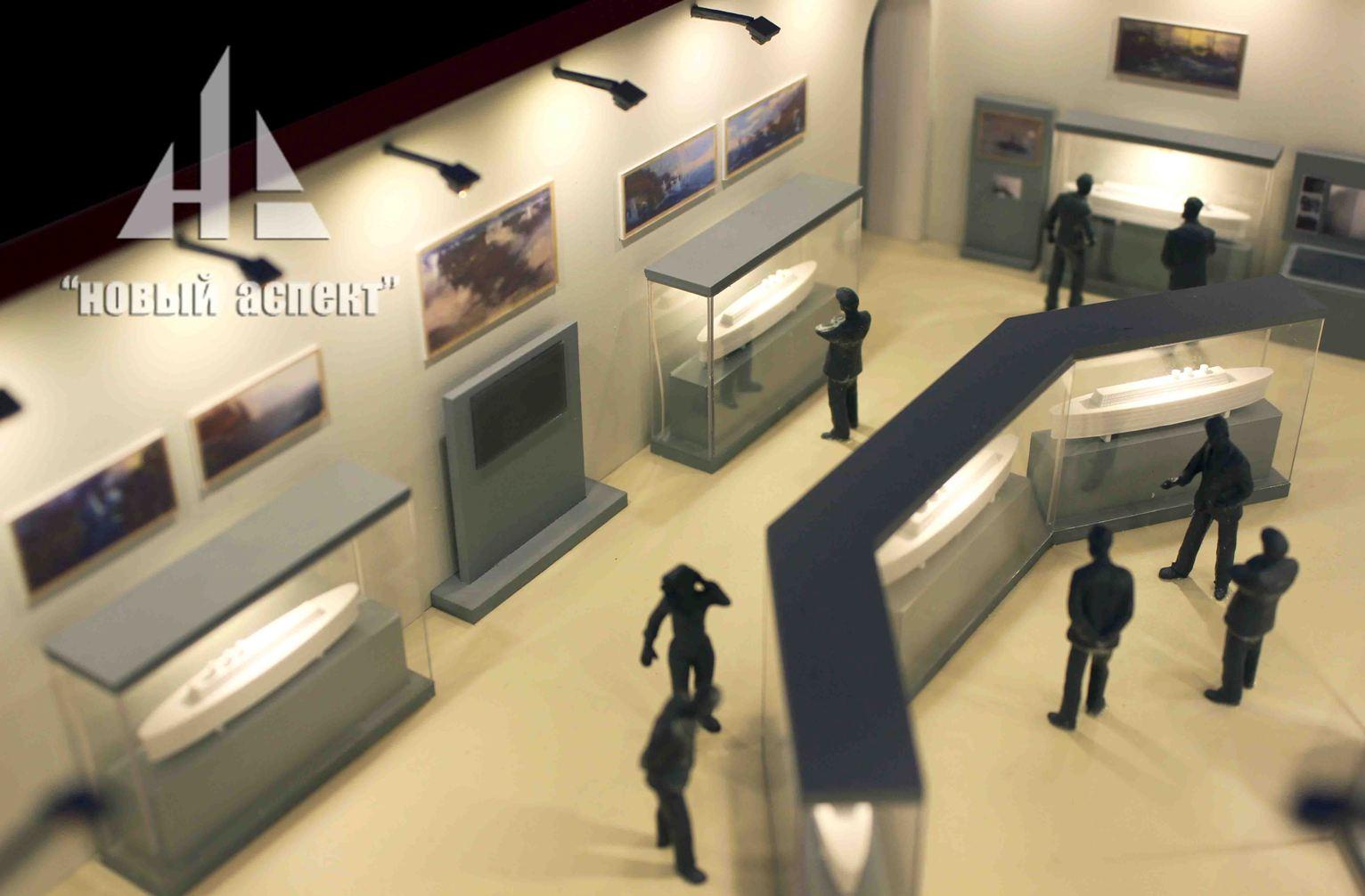 Макеты общественных зданий, ВММ (4)