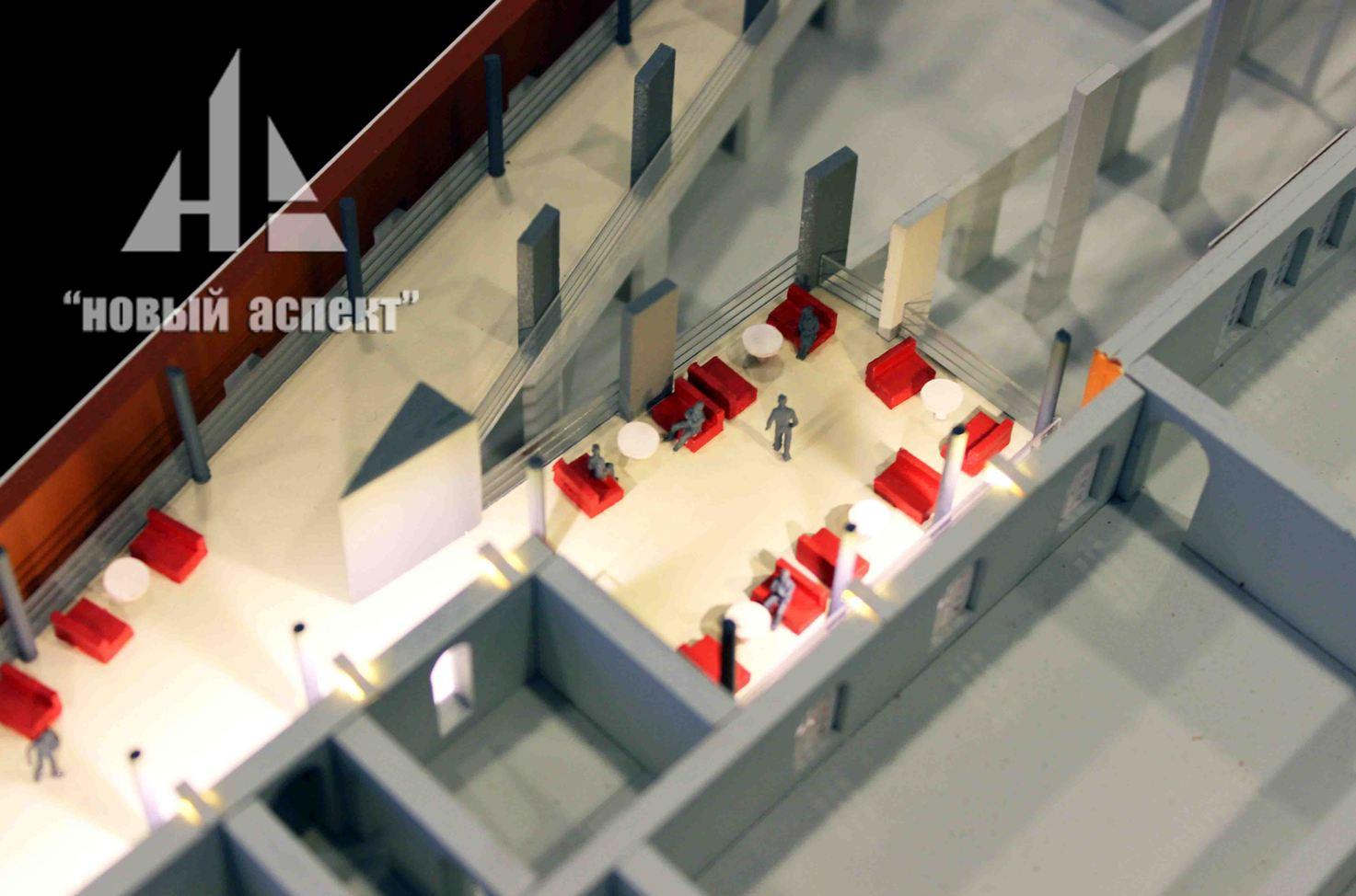 Макеты общественных зданий, ВММ (5)