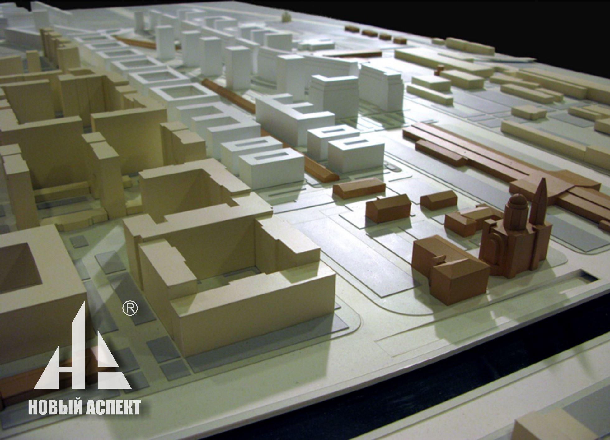 Градостроительные макеты, Варш2