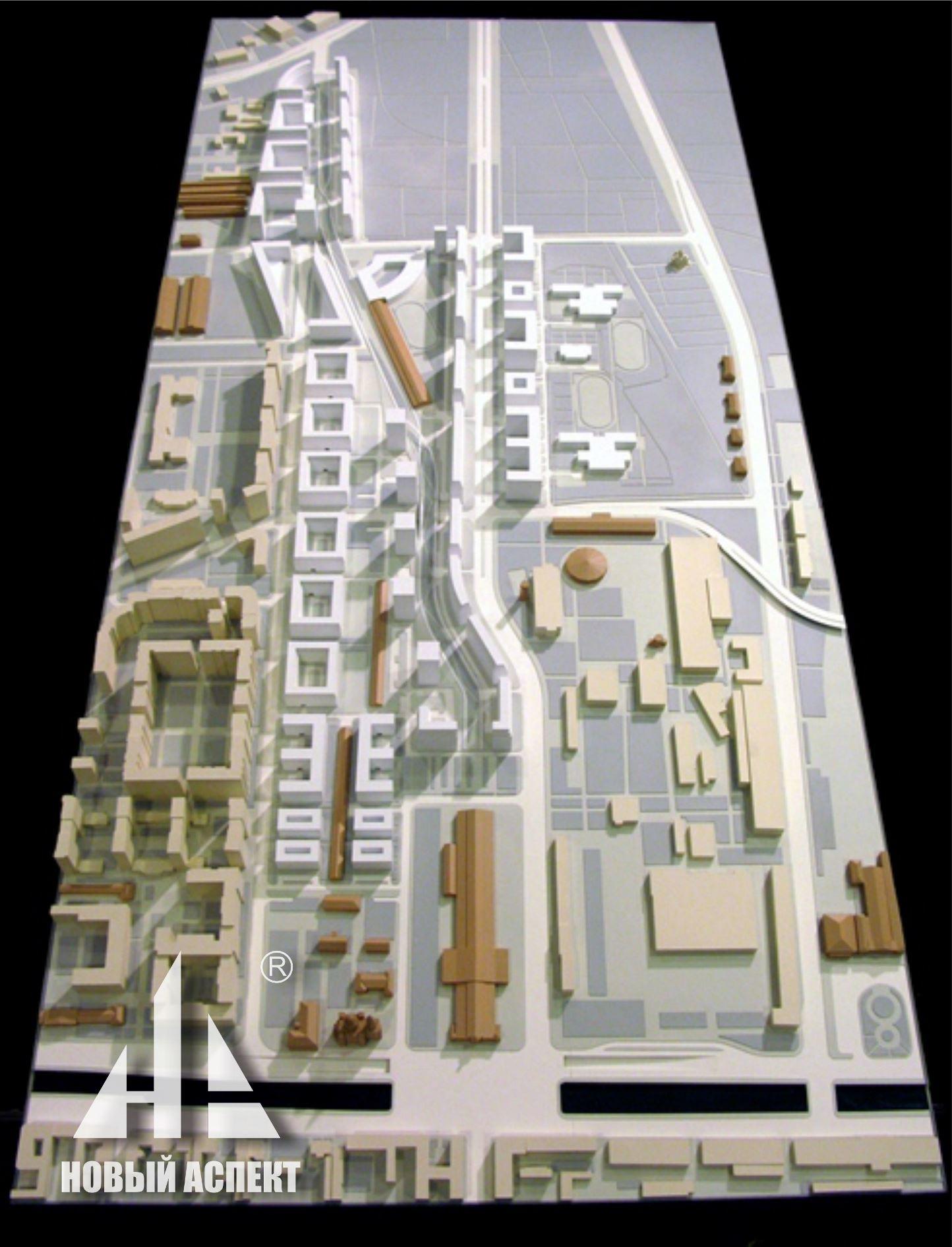 Градостроительные макеты, Варш3