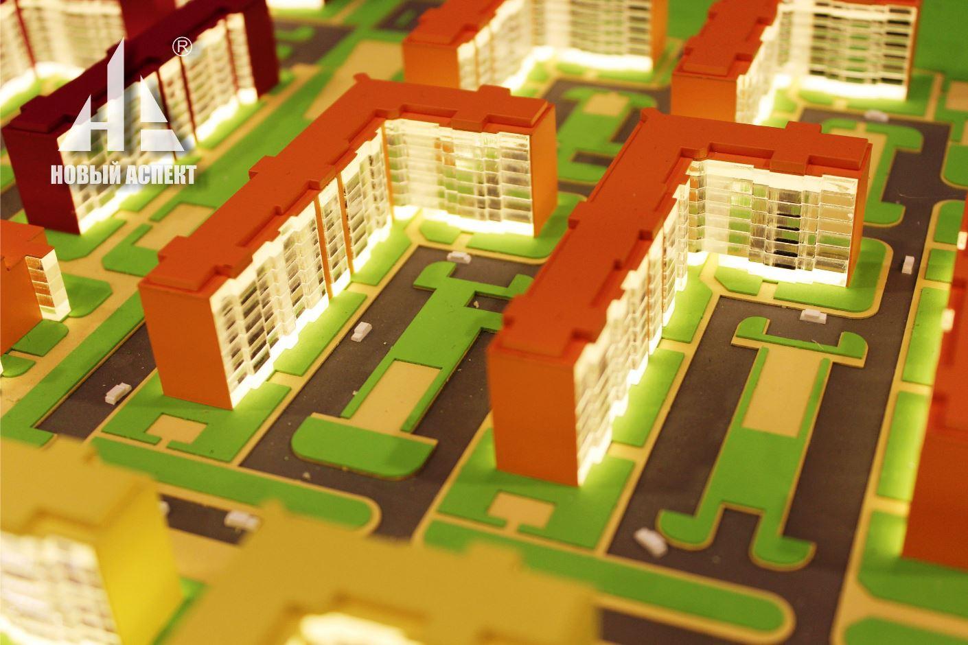 Градостроительные макеты ЯЯ2