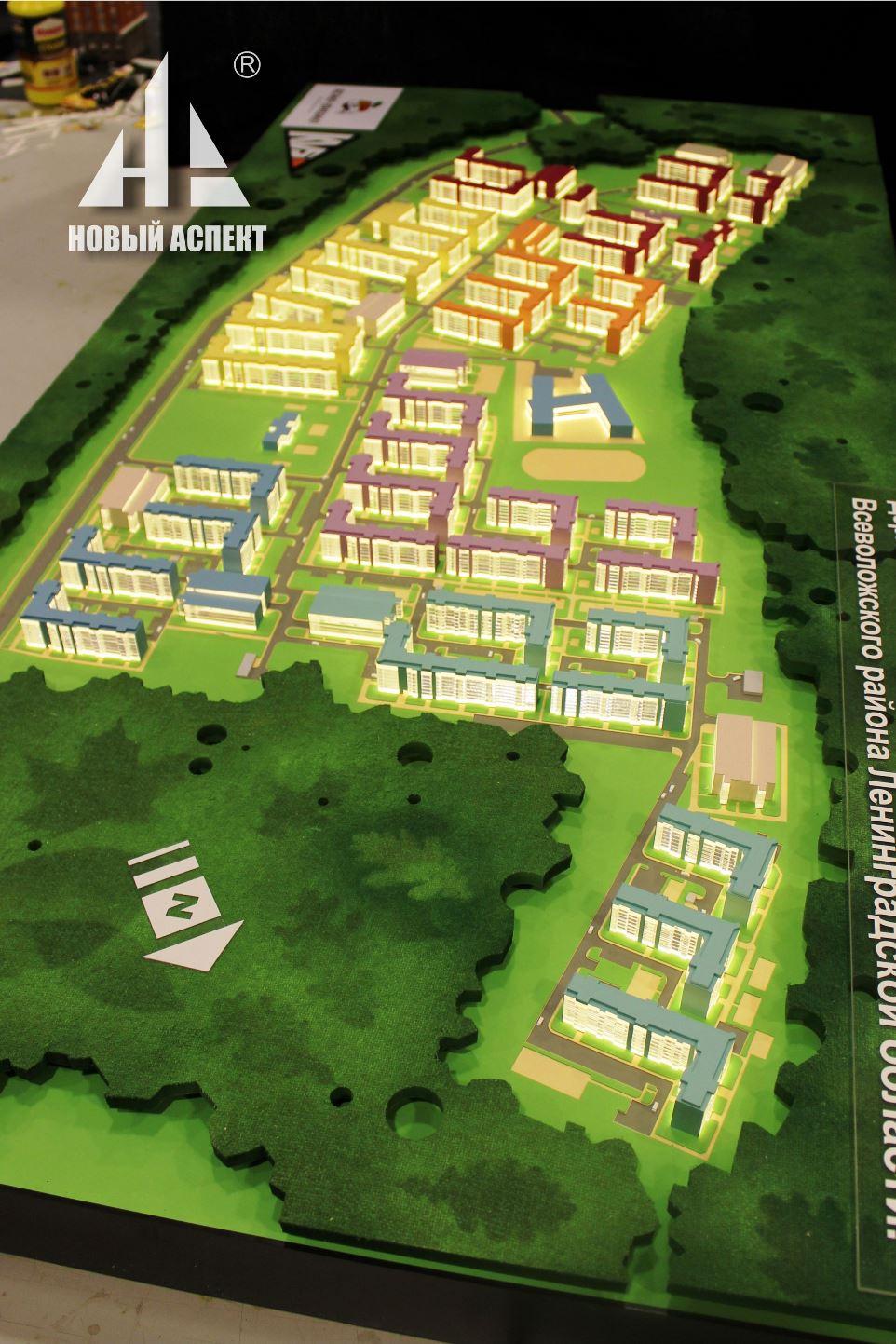 Градостроительные макеты ЯЯ5