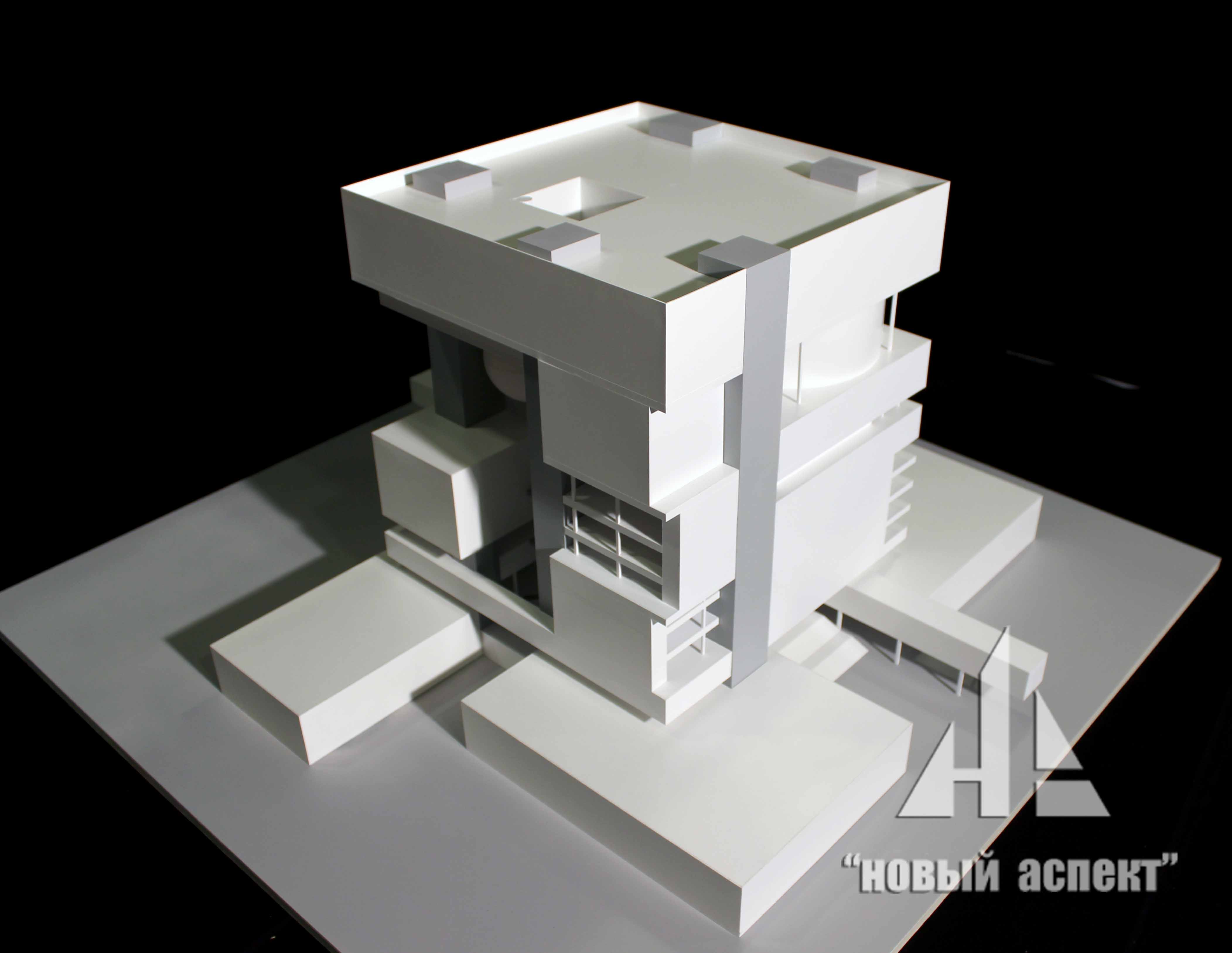Макеты общественных зданий Жастар Эскиз (1)