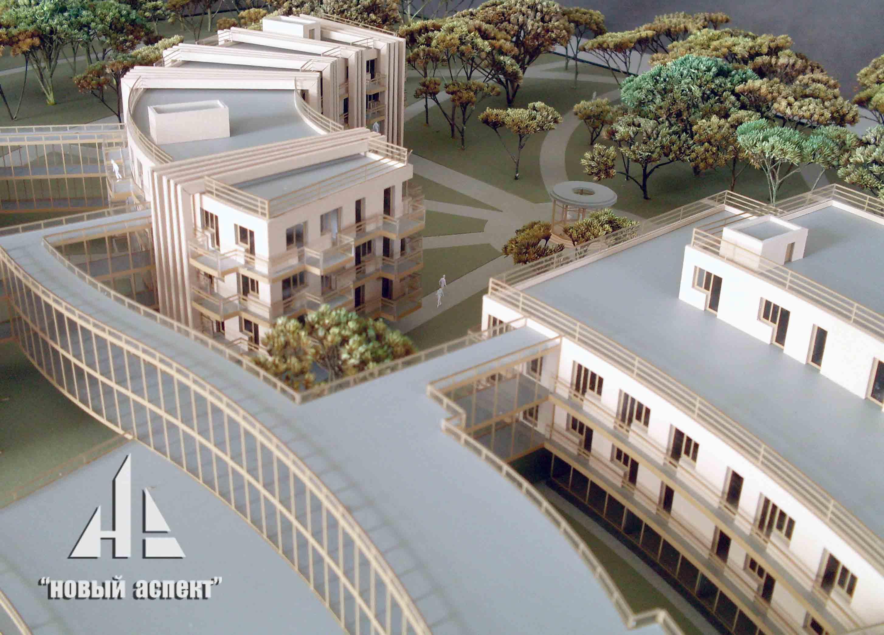 Макеты общественных зданий Зеленогорск (3)