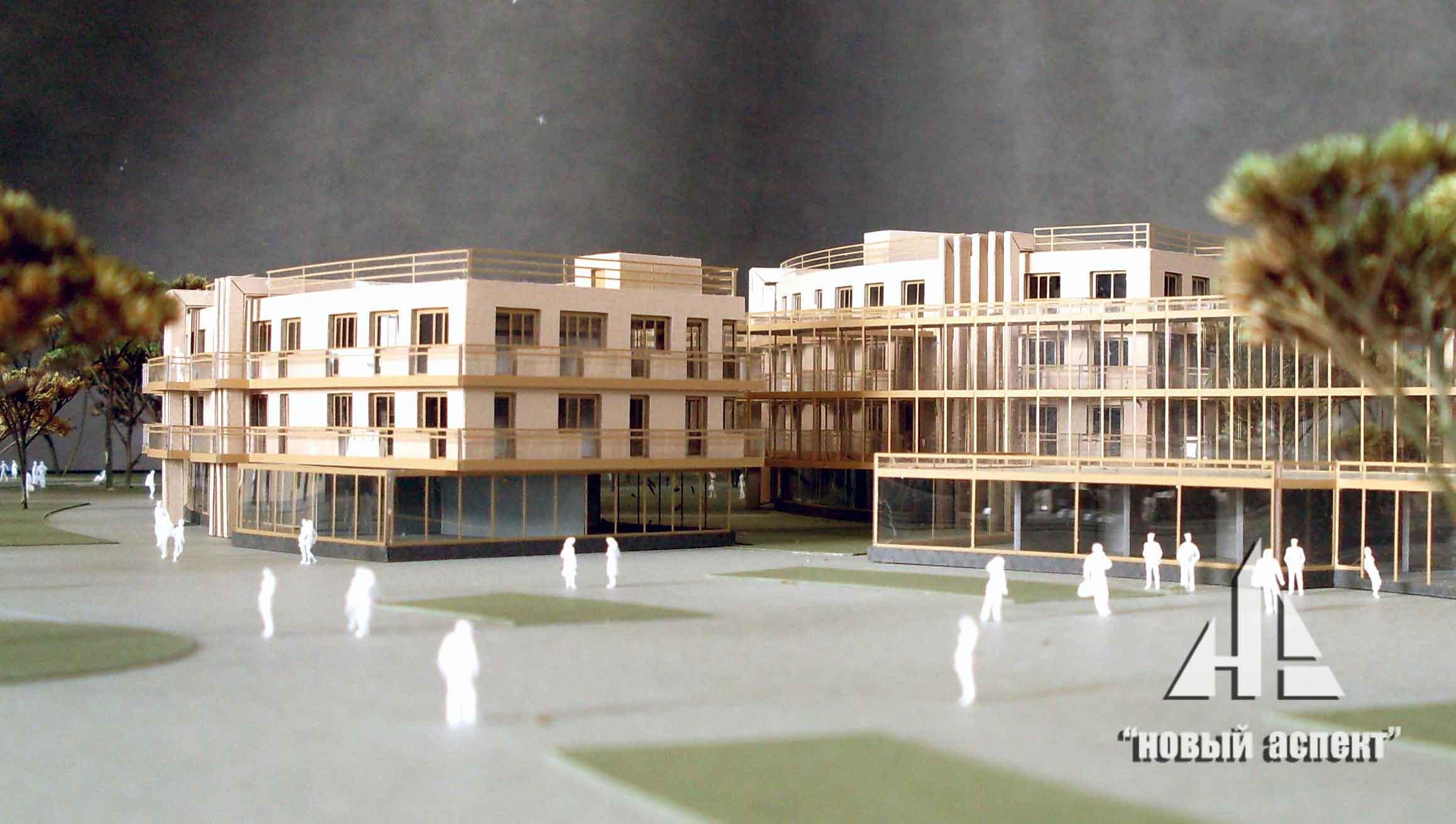 Макеты общественных зданий Зеленогорск (4)