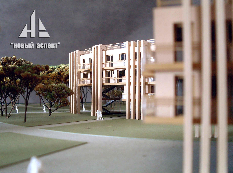 Макеты общественных зданий Зеленогорск (5)