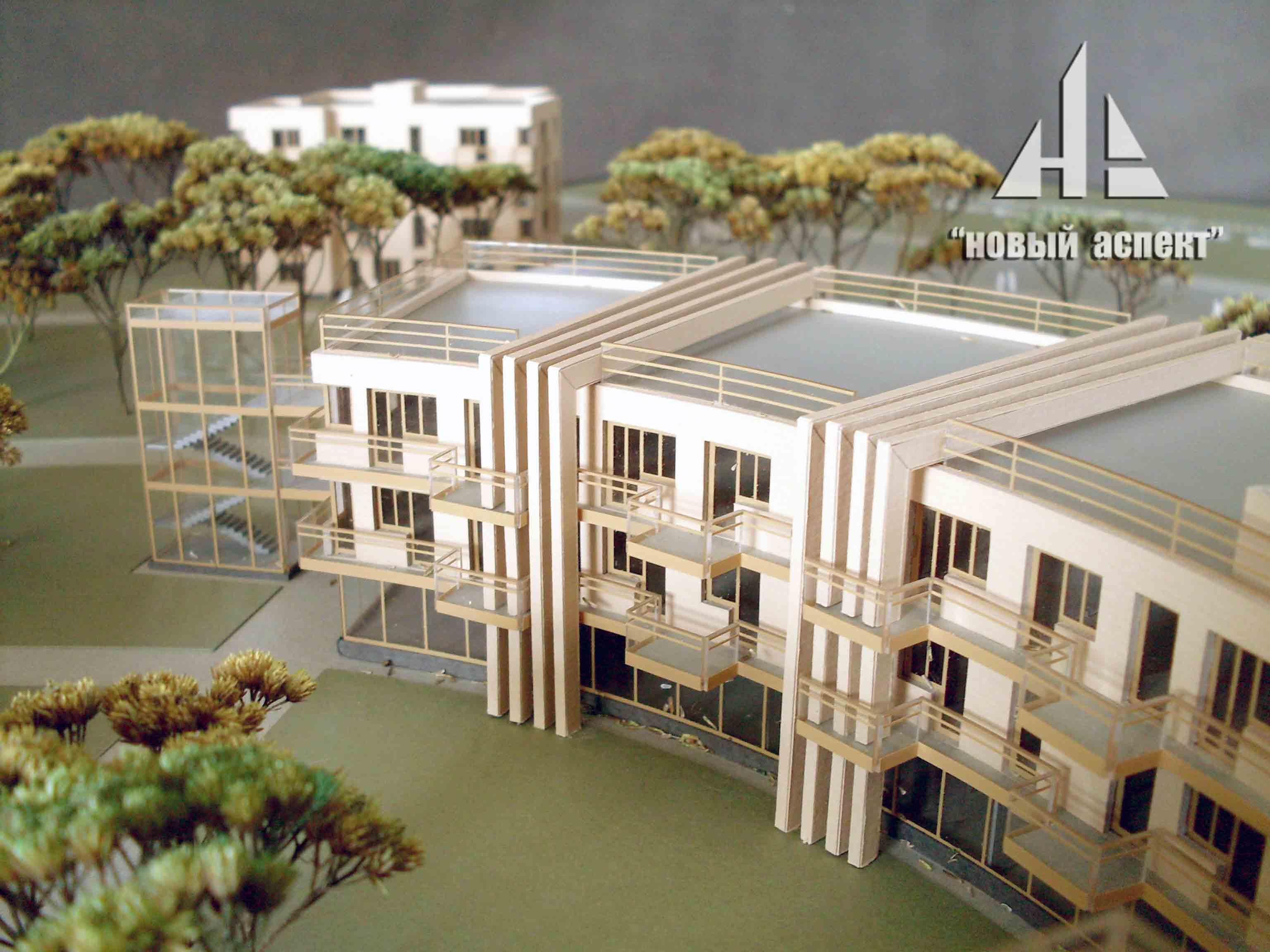 Макеты общественных зданий Зеленогорск
