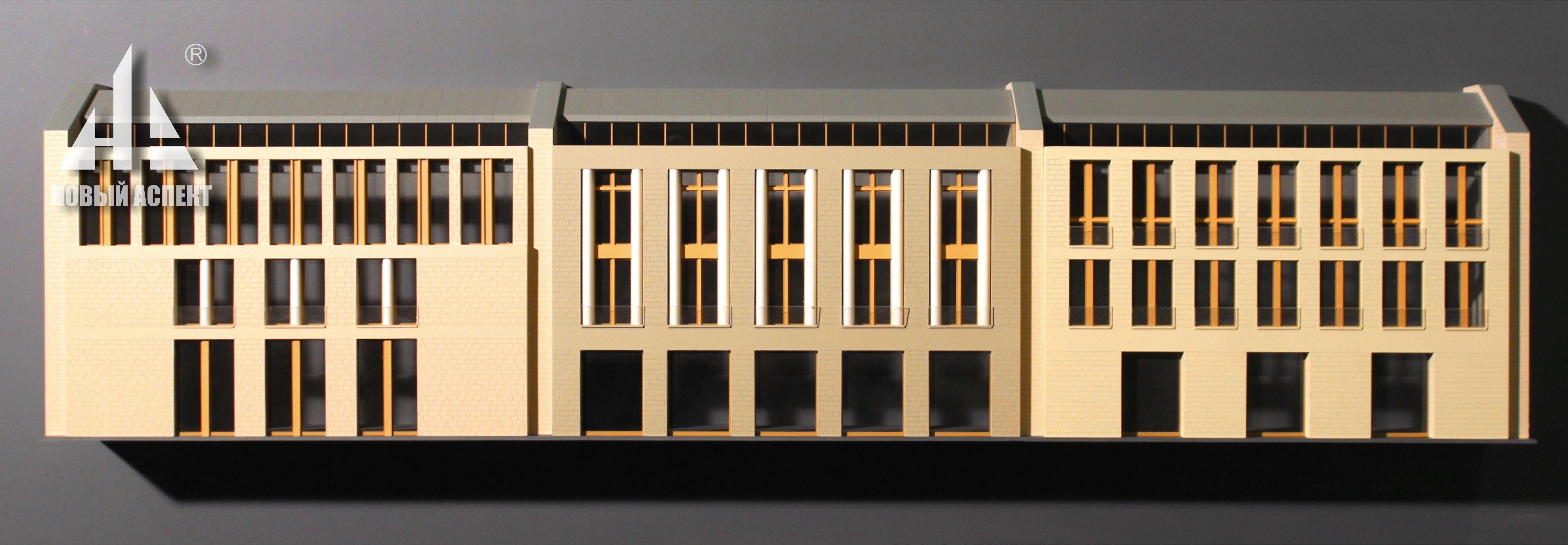 Макеты общественных зданий КДЦфасады (2)