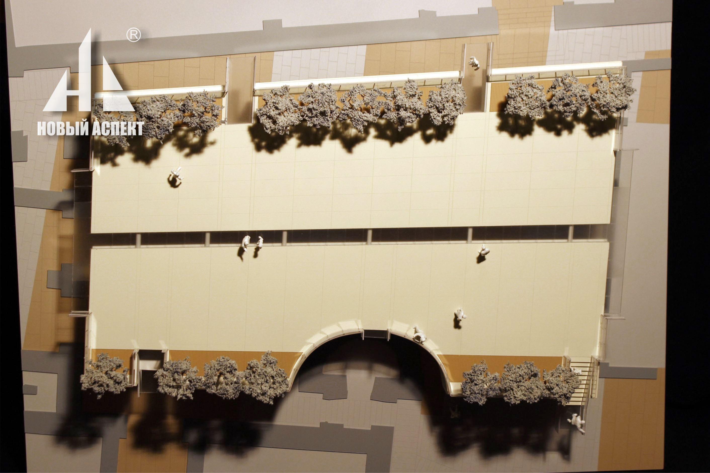 Макеты общественных зданий Платформа Главного Штаба (1)