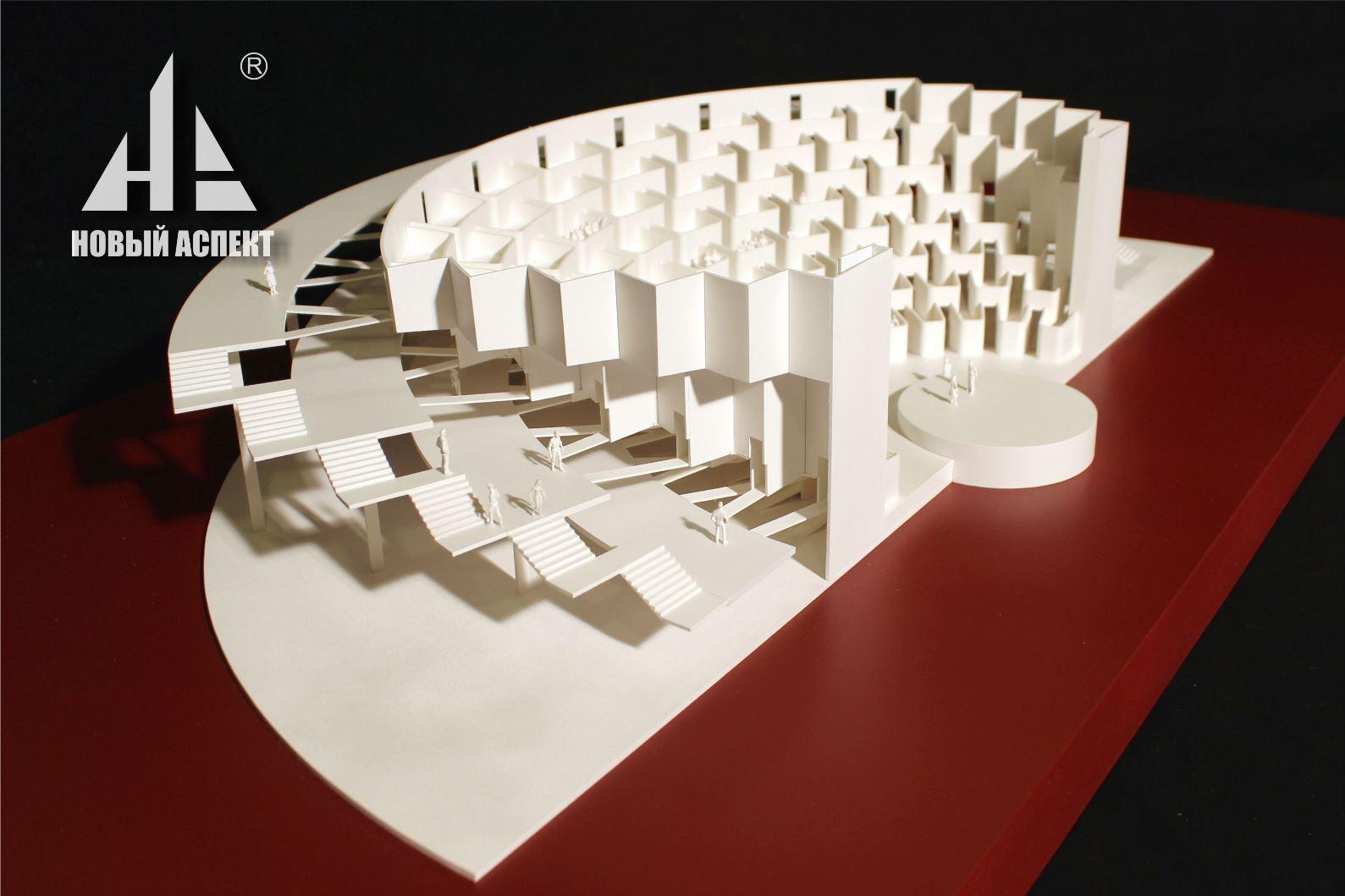 Макеты общественных зданий Театр Лож (1)