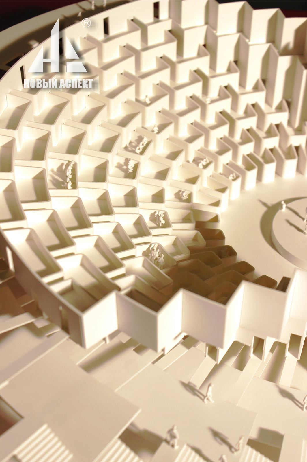 Макеты общественных зданий Театр Лож (3)