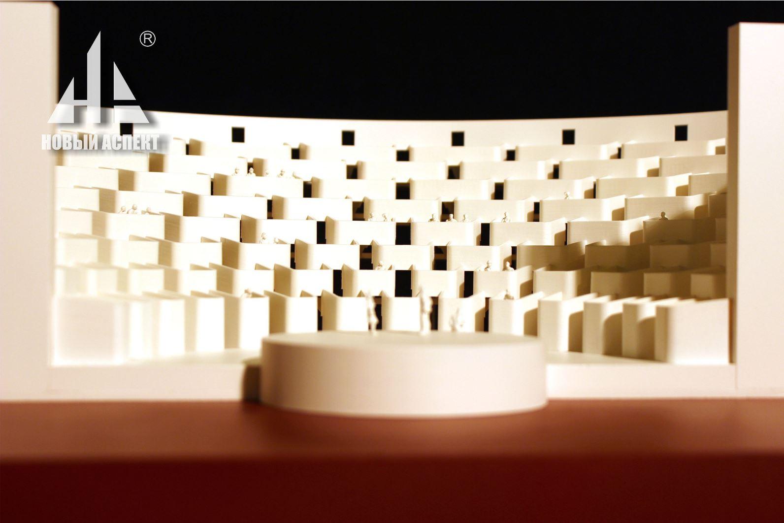 Макеты общественных зданий Театр Лож (4)