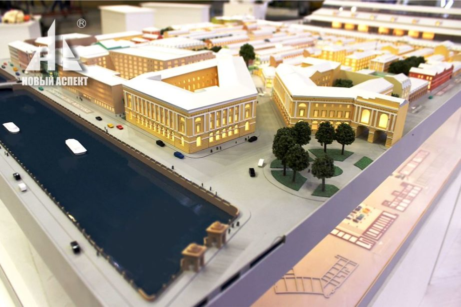 Градостроительные макеты, Апраскин Двор 2017 (2)