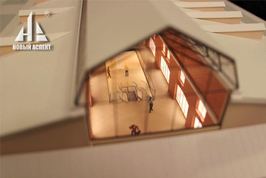 Макеты общественных зданий, Корп37,38 (3)