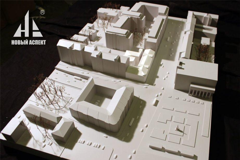 Градостроительные макеты Школа им. Моисеева (2)