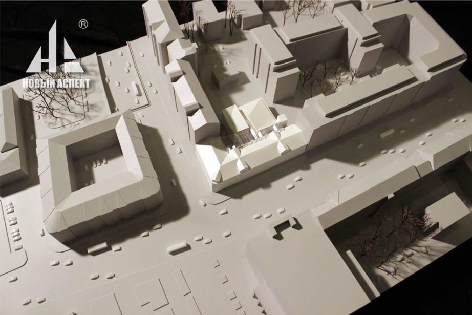 Градостроительные макеты Школа им. Моисеева (3)